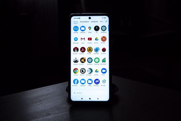 Poco X3 NFC okostelefon teszt 20