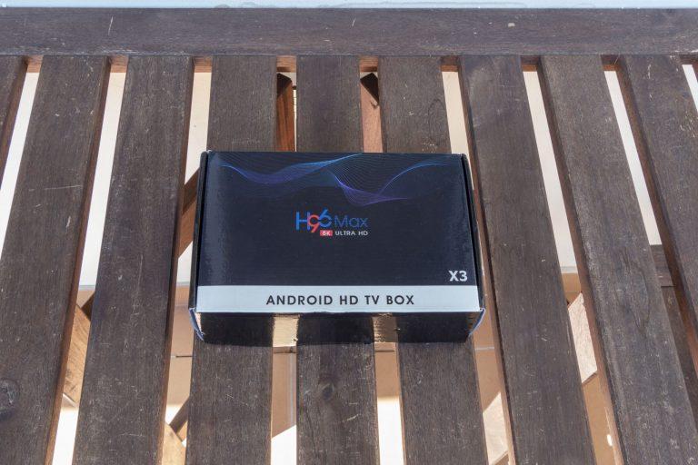 H96 Max X3 TV box teszt 2