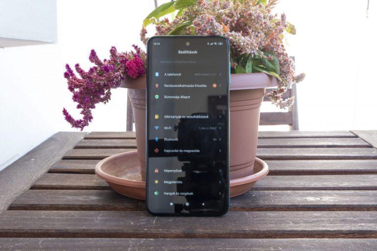 Redmi Note 9 Pro okostelefon teszt 15