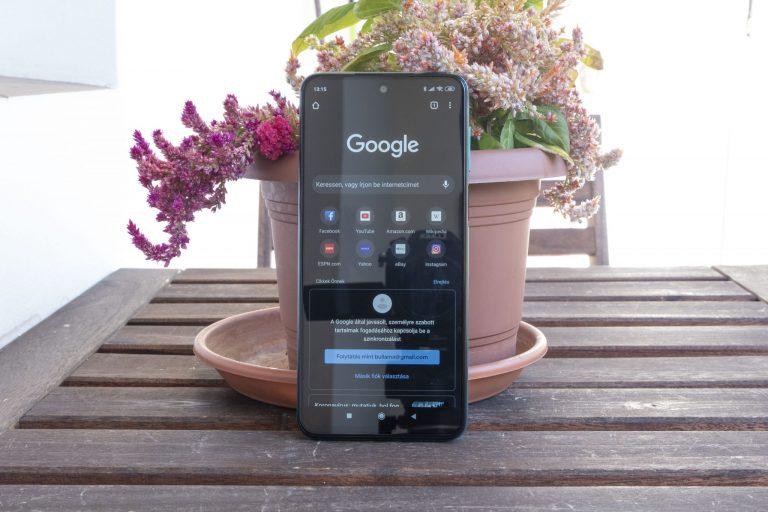 Redmi Note 9 Pro okostelefon teszt 16