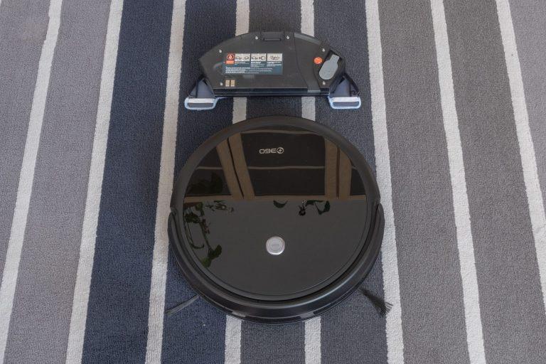360 C50 robotporszívó teszt 5