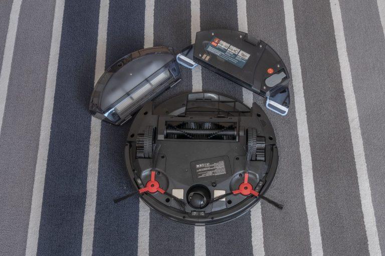 360 C50 robotporszívó teszt 6