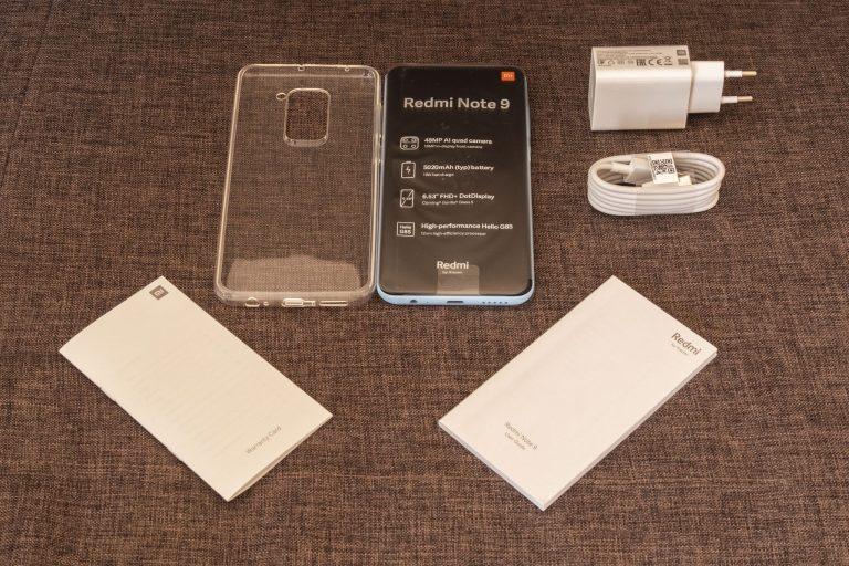 Redmi Note 9 okostelefon teszt 4