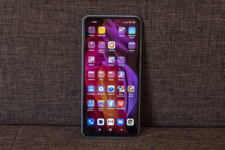 Redmi Note 9 okostelefon teszt 13