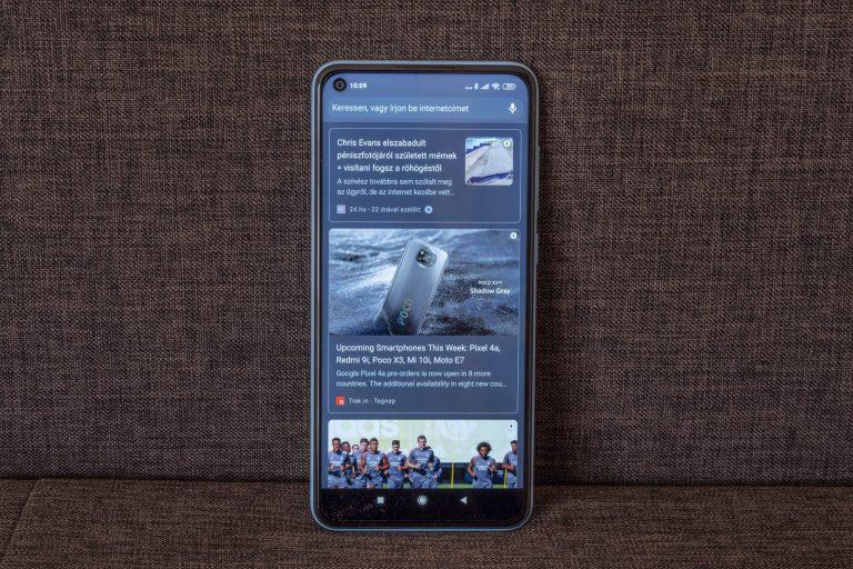 Redmi Note 9 okostelefon teszt 14