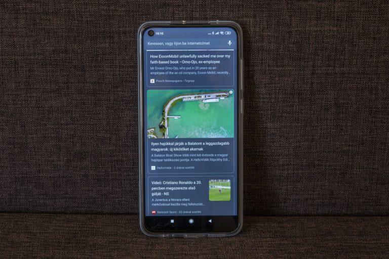Redmi Note 9 okostelefon teszt 15