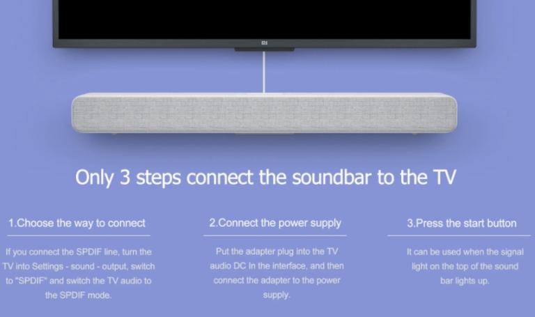 Akciós az eredeti Xiaomi Soundbar 9