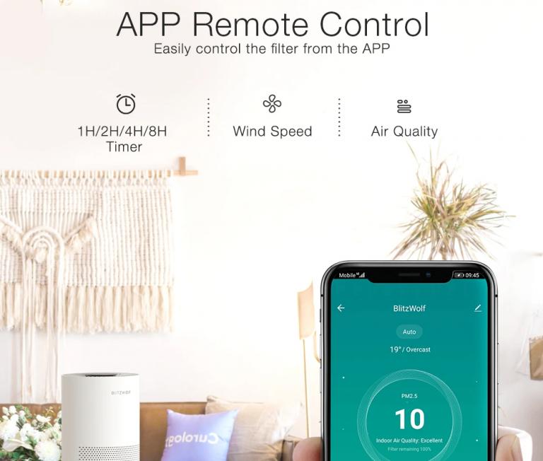 Kihívót kapnak a Xiaomi légtisztítók a BlitzWolftól 3
