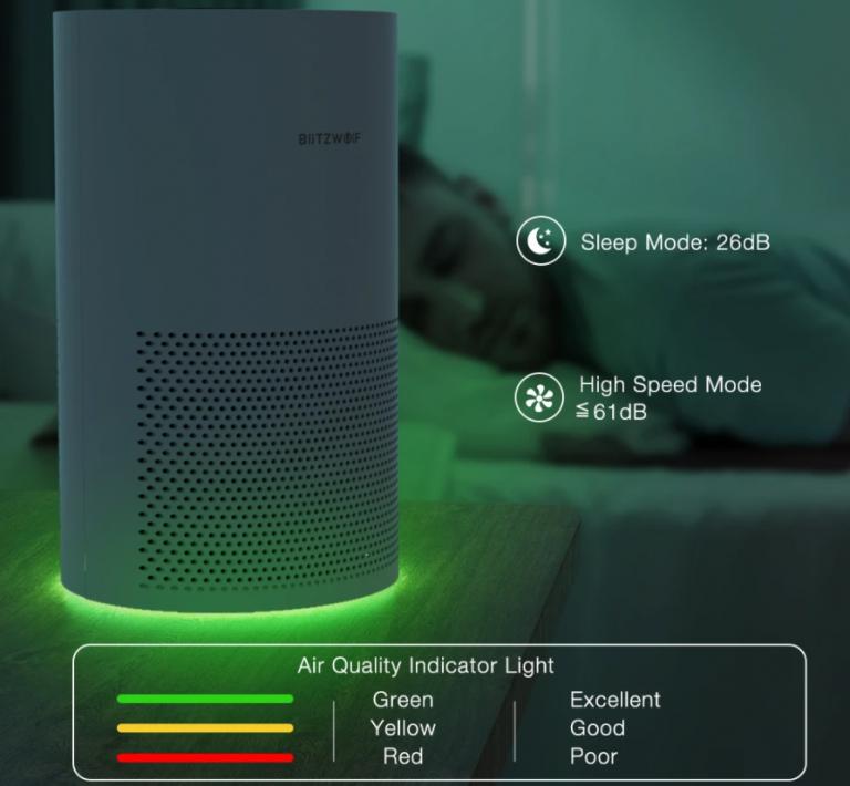 Kihívót kapnak a Xiaomi légtisztítók a BlitzWolftól 4