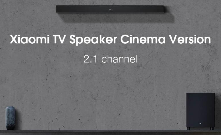 Teljesen új soundbar+mélynyomó párost fejlesztett a Xiaomi 3