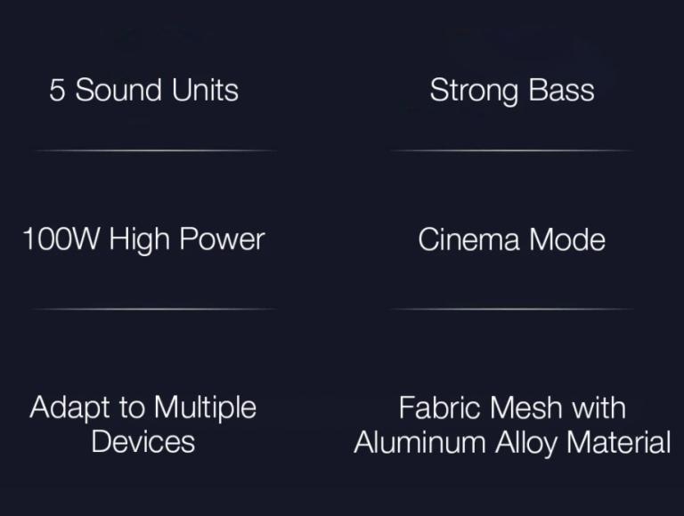 Teljesen új soundbar+mélynyomó párost fejlesztett a Xiaomi 8