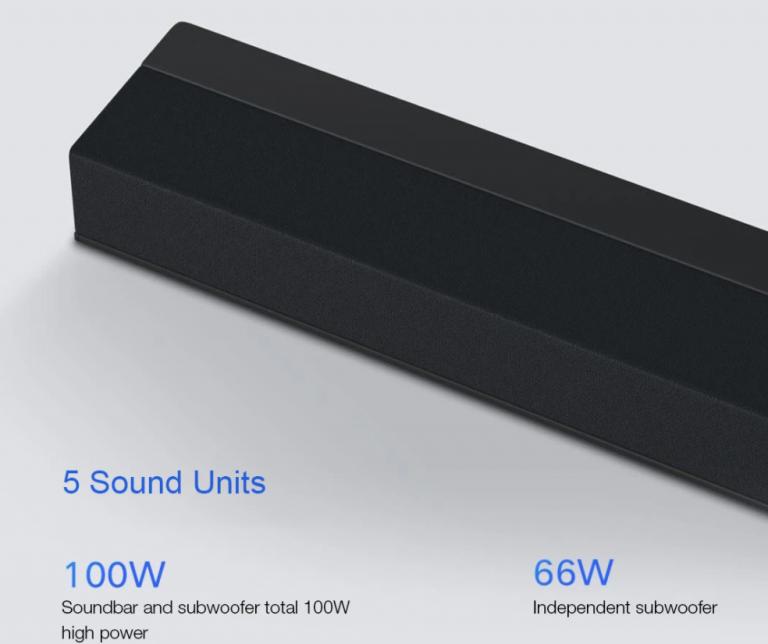Teljesen új soundbar+mélynyomó párost fejlesztett a Xiaomi 4