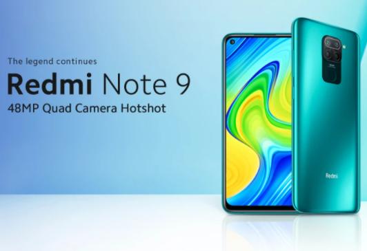 Bőven 50 000 forint alatt a 4/128GB-os Redmi Note 9 2