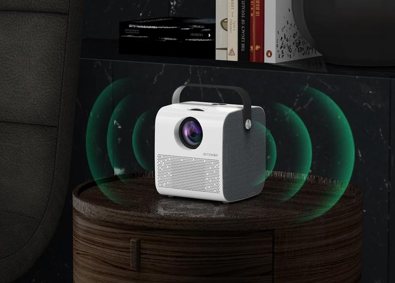 21 000 forintért vihető a BlitzWolf meccsnézős projektora 5