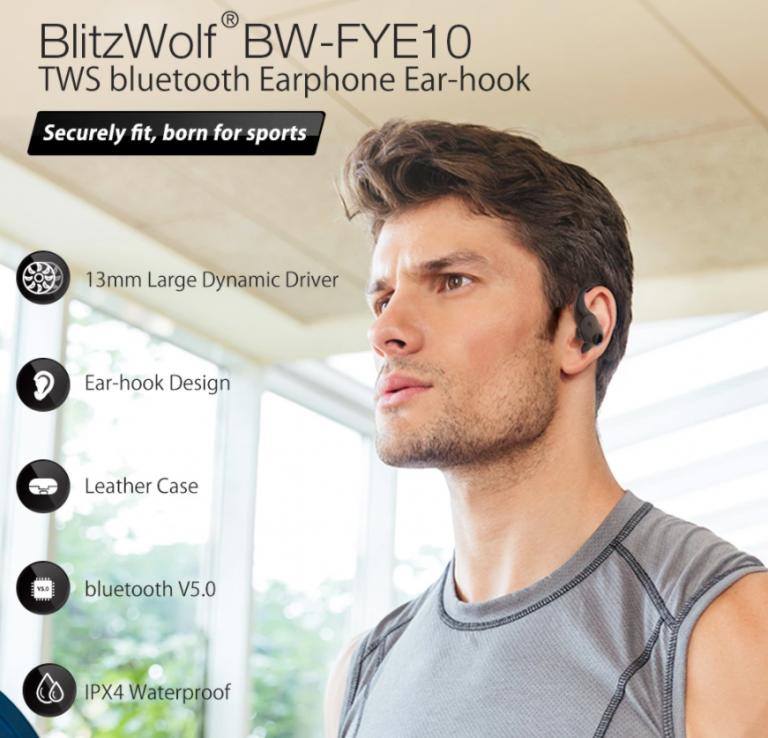Kijött az új BlitzWolf TWS fülhallgató, a BW-FYE10 2