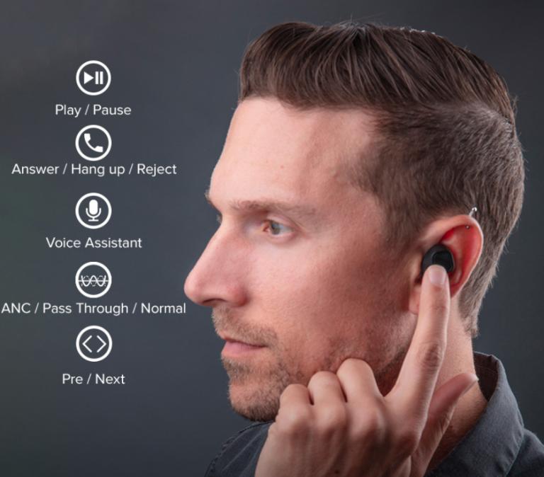 20 DECEBEL aktív zajszűrős fülhallgató féláron Aliról 3
