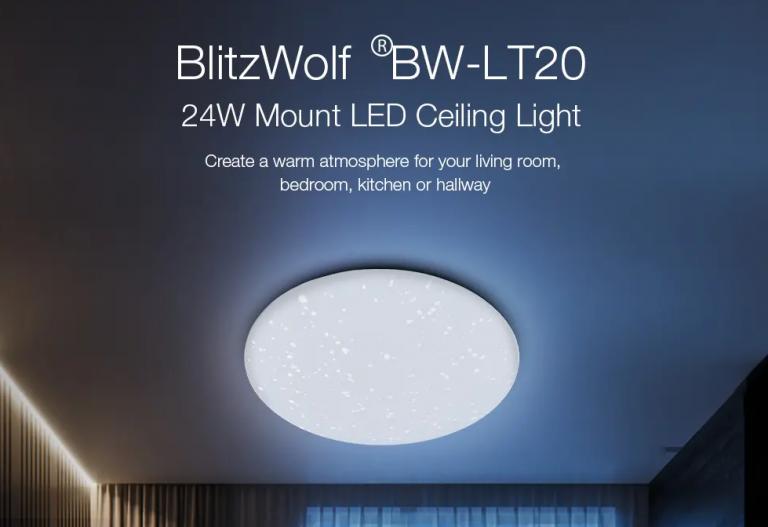 BlitzWolf okosvilágítás elérhető áron a Banggoodon 12