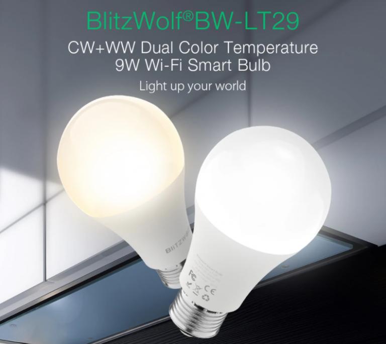 BlitzWolf okosvilágítás elérhető áron a Banggoodon 6