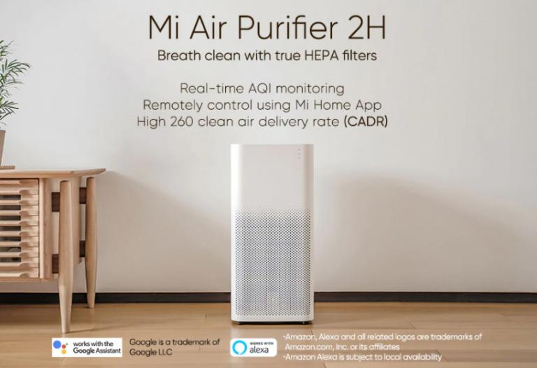 100 dollár alá kúszott a Xiaomi Air Purifier 2H ára 2