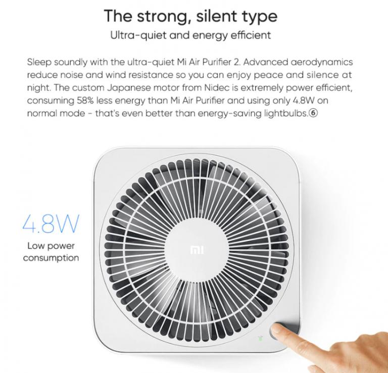 100 dollár alá kúszott a Xiaomi Air Purifier 2H ára 8
