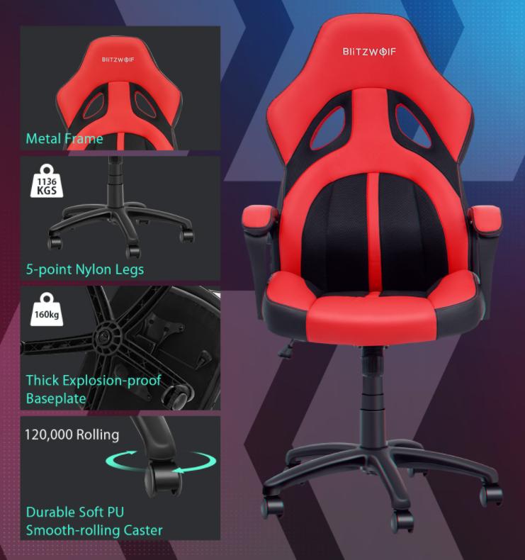 Újabb két brutál olcsó székkel rukkolt elő a BlitzWolf 10