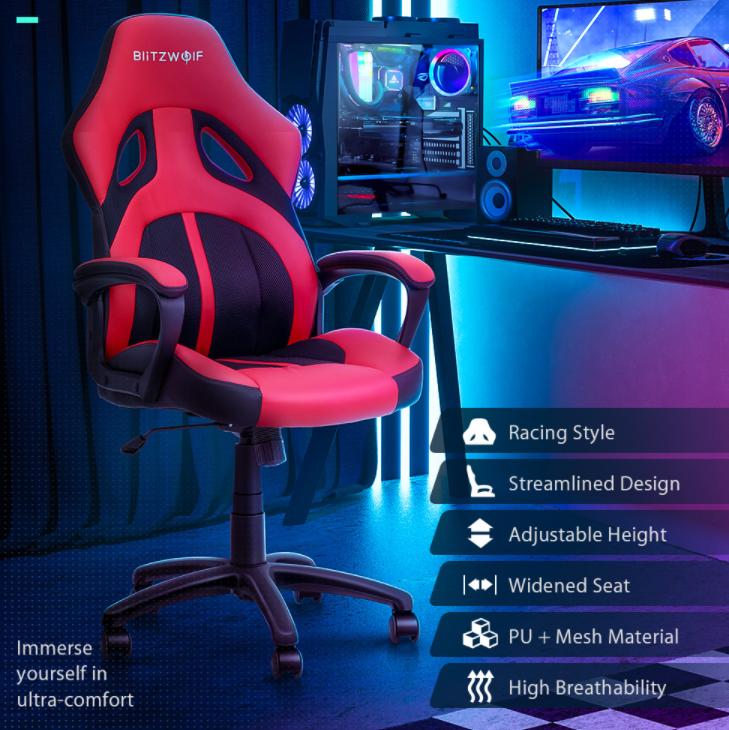Újabb két brutál olcsó székkel rukkolt elő a BlitzWolf 7