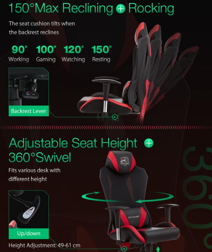 Újabb két brutál olcsó székkel rukkolt elő a BlitzWolf 4