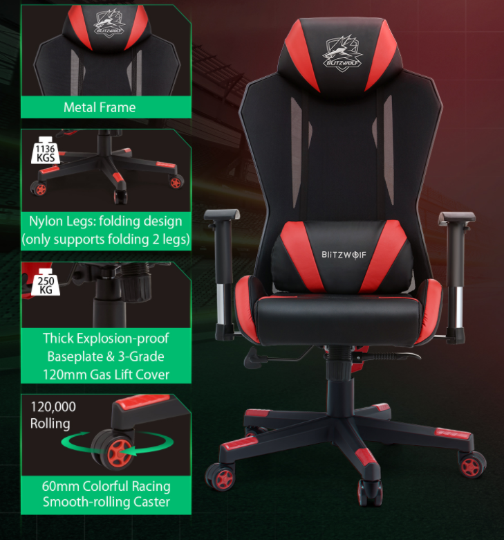 Újabb két brutál olcsó székkel rukkolt elő a BlitzWolf 5