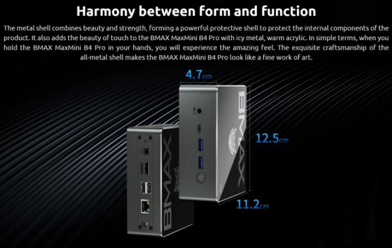 Intel Core i3-as mini PC, az itthoni ár feléért a Bmax-tól 9