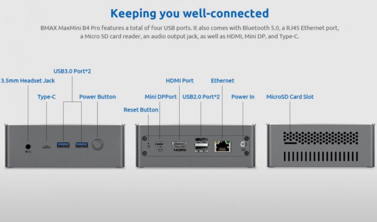 Intel Core i3-as mini PC, az itthoni ár feléért a Bmax-tól 4