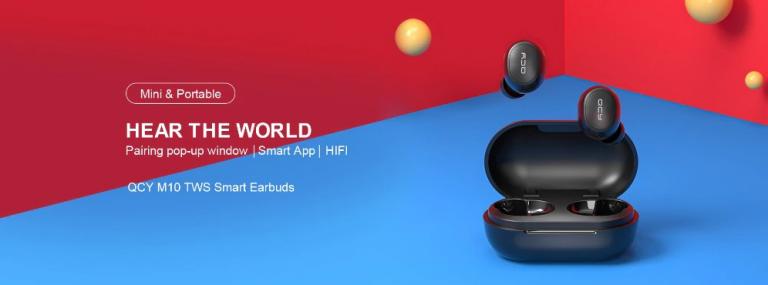 TWS füles, kevesebb mint 5000 forintért – Xiaomi QCY M10 2