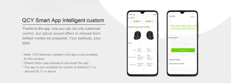 TWS füles, kevesebb mint 5000 forintért – Xiaomi QCY M10 9