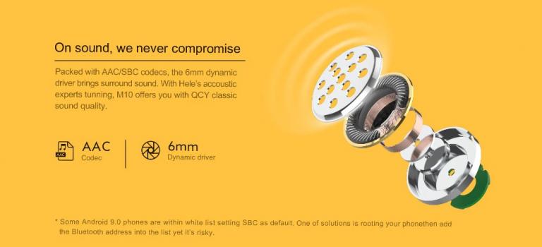 TWS füles, kevesebb mint 5000 forintért – Xiaomi QCY M10 6