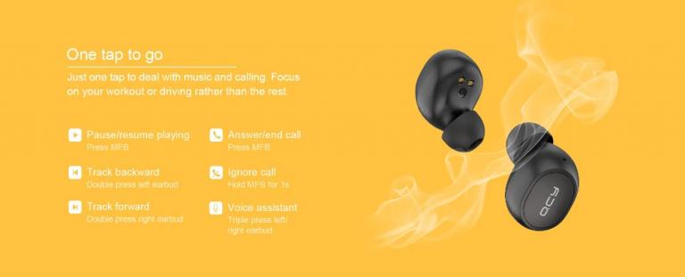 TWS füles, kevesebb mint 5000 forintért – Xiaomi QCY M10 7