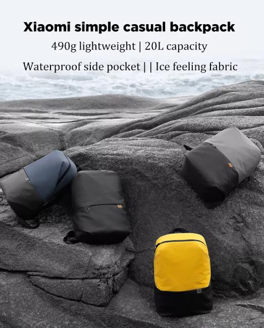 20 literes Xiaomi hátizsák, olcsón az Aliexpressről 2