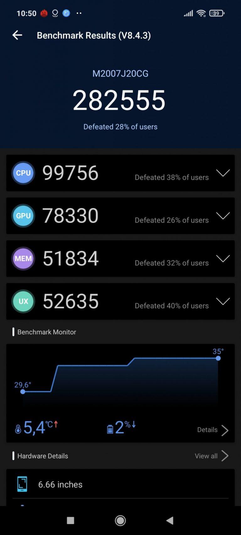 Poco X3 NFC okostelefon teszt 21