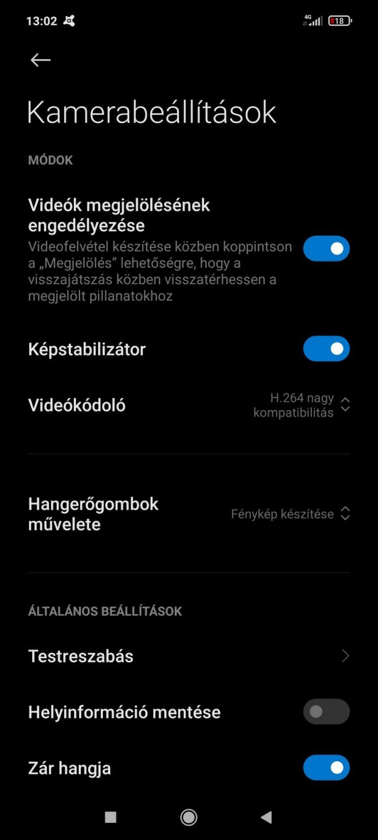 Poco X3 NFC okostelefon teszt 31