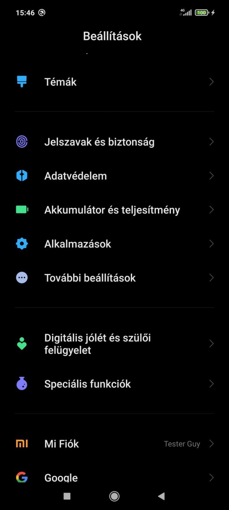 Poco X3 NFC okostelefon teszt 34