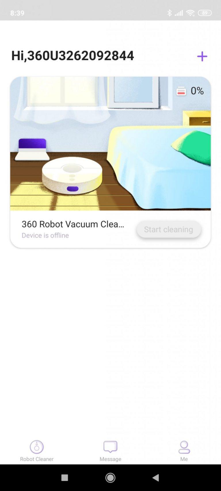 360 C50 robotporszívó teszt 15