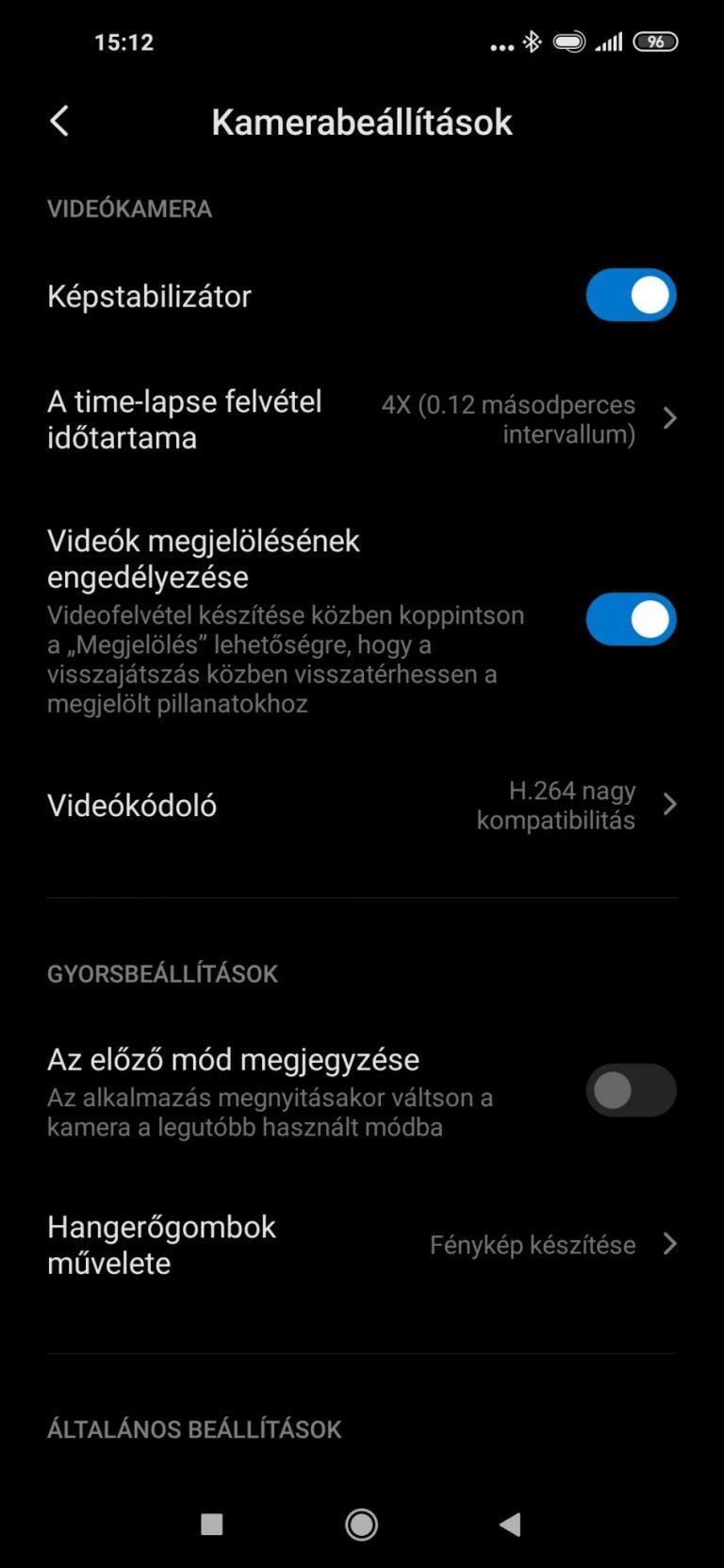 Redmi Note 9 okostelefon teszt 24
