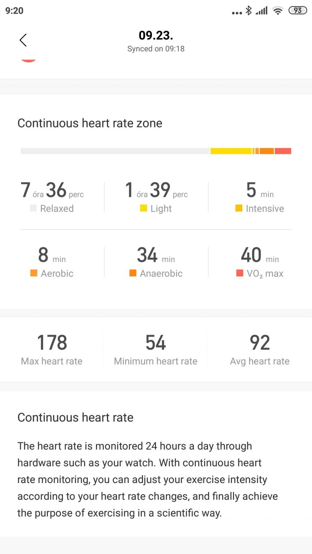 Xiaomi Amazfit Nexo okosóra teszt 14