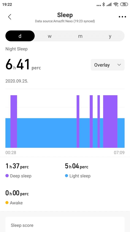 Xiaomi Amazfit Nexo okosóra teszt 26