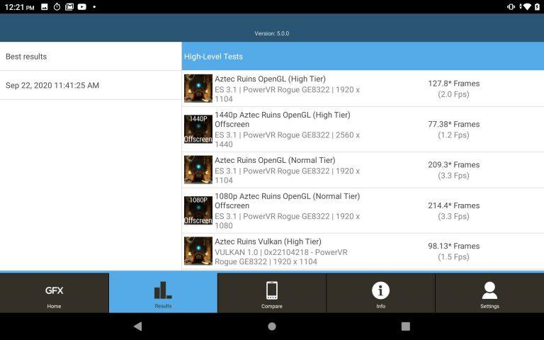Alldocube iPlay 20 tablet teszt 22