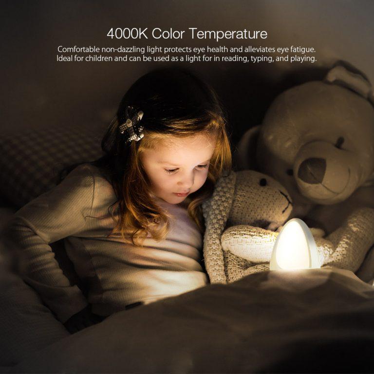 BlitzWolf BW-LT9 lámpa – olcsó éjjeli fény gyerekeknek 4