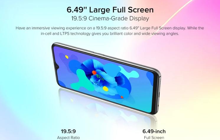 Előrendelhető az Umidigi A7 okostelefon 7