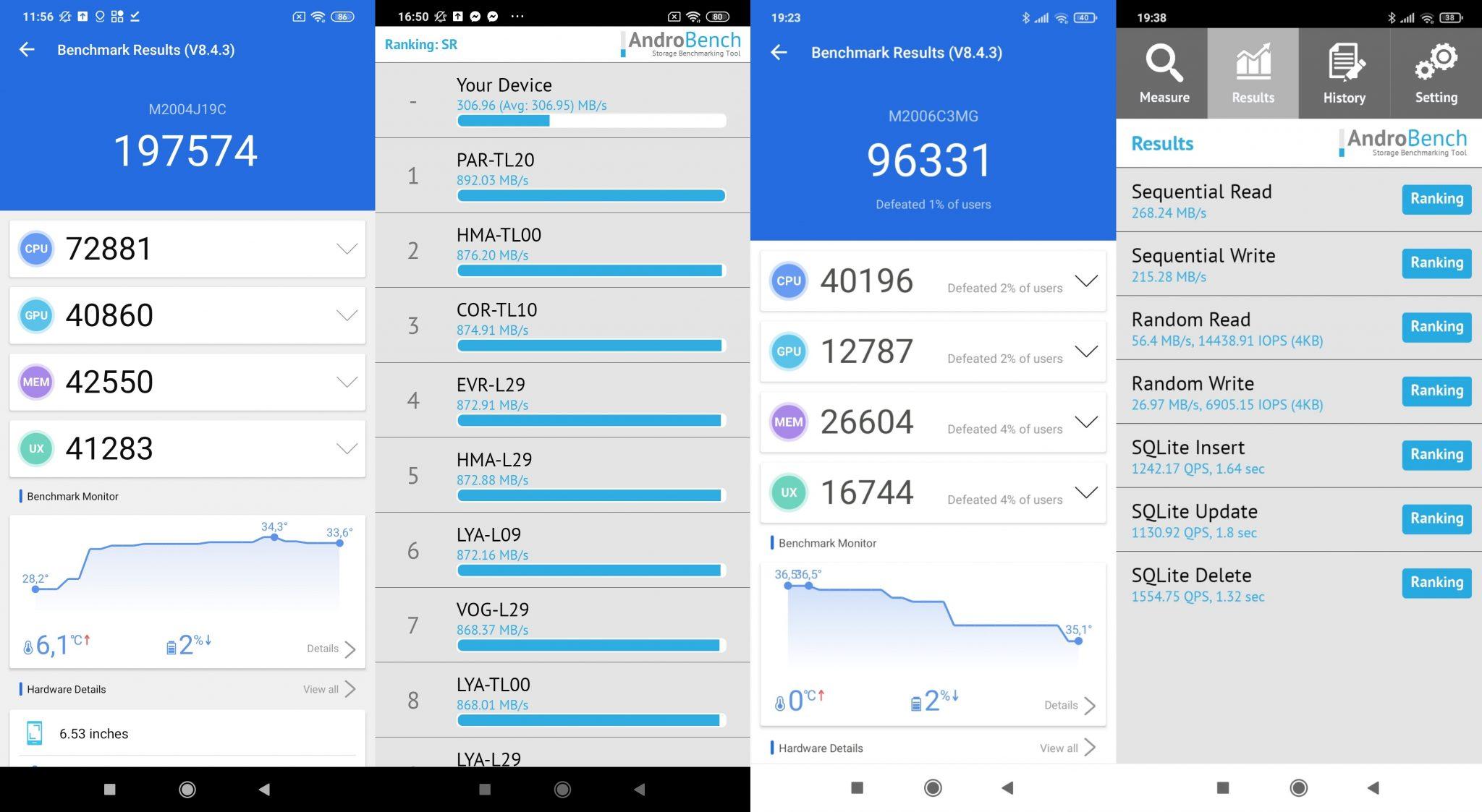 Redmi 9 vs. Redmi 9C okostelefon teszt 18
