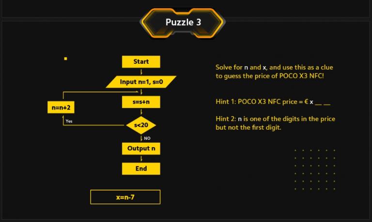 Poco X3 NFC okostelefon 3