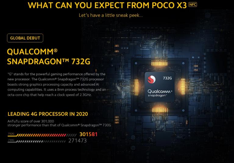 Poco X3 NFC okostelefon 4