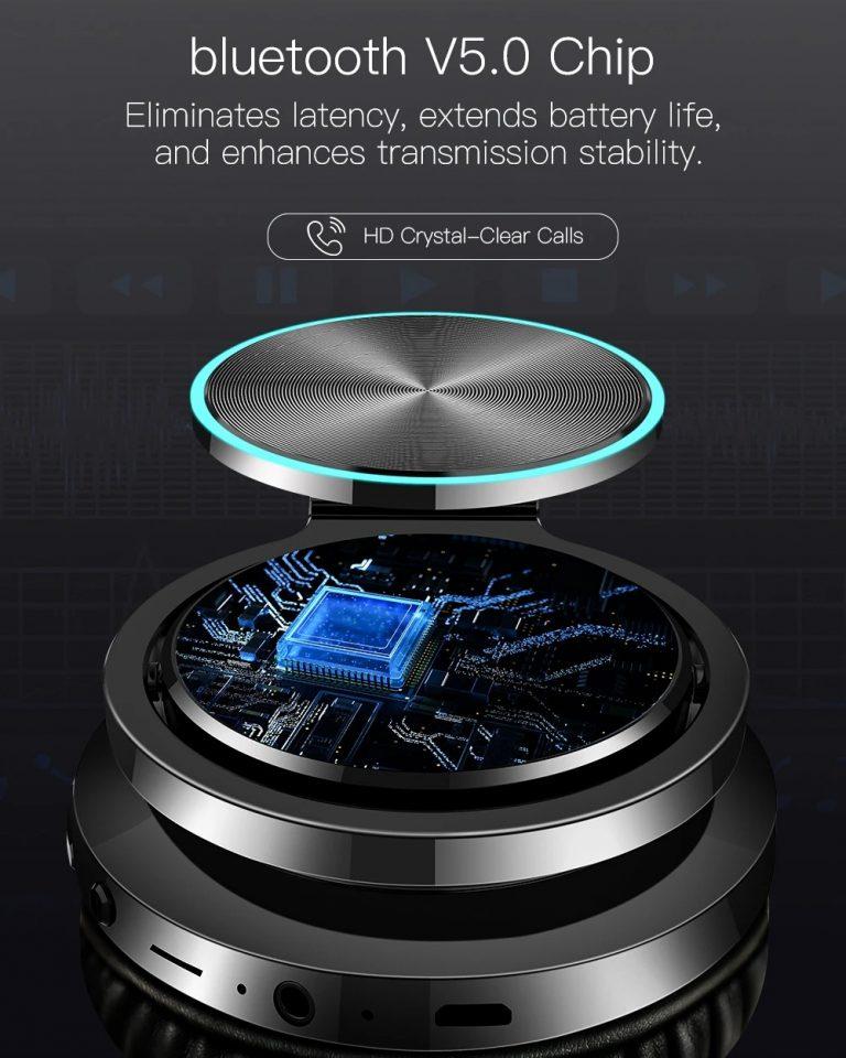 BlitzWolf Bluetooth fejhallgató fillérekért 4