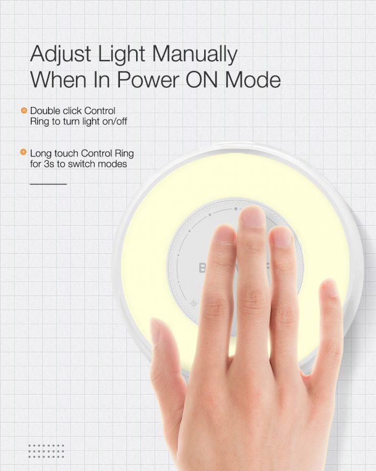 Ismét olcsón kapható a BW-LT22-es éjjelilámpa 8